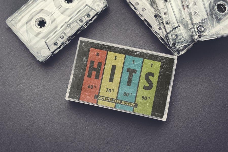 Cassette Case Design Mockup