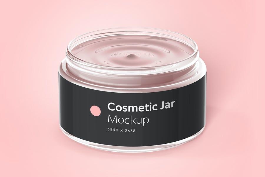 Cosmetic Cream Jar Mockups