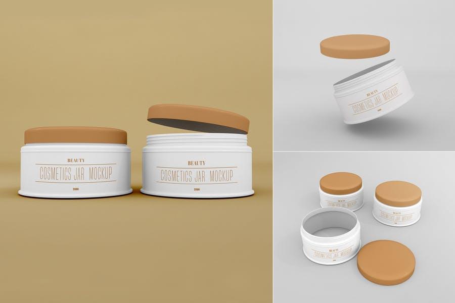 Fully Editable Face Cream Mockup