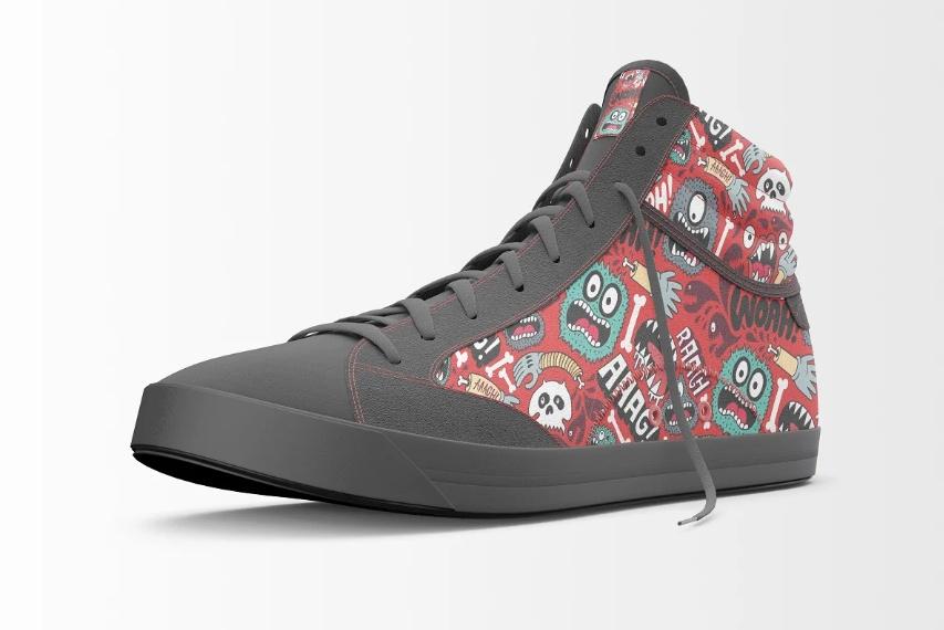 Hispsters Shoe Mockup PSD