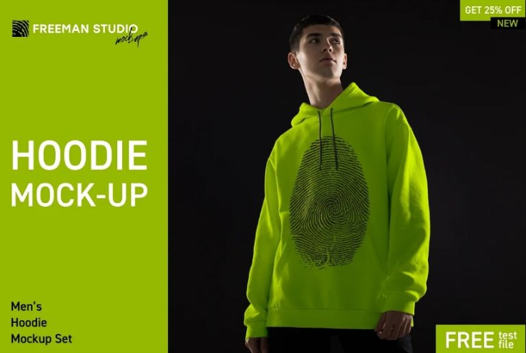 Hoodie Design Presentation Mockup