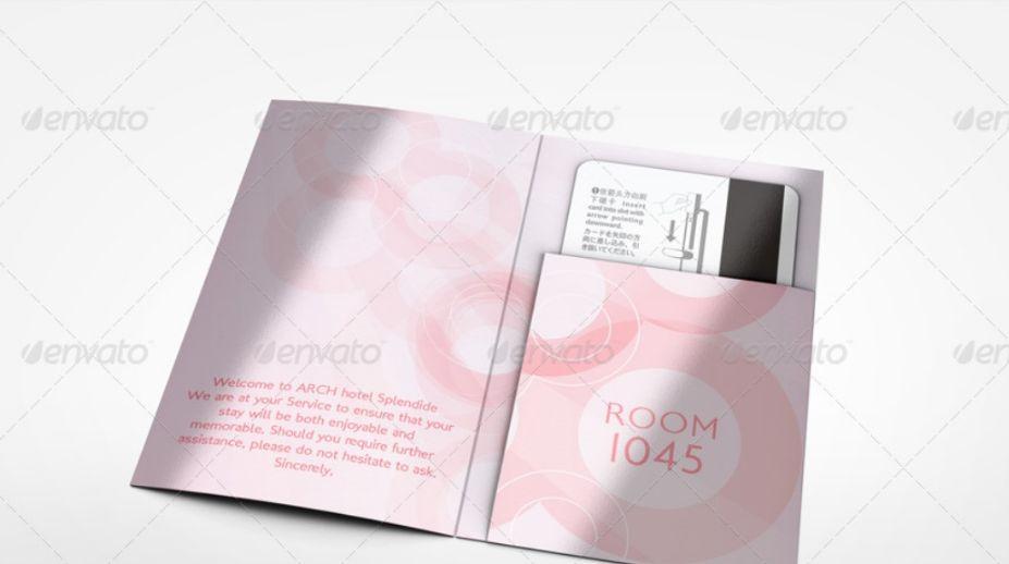 Key Card Holder Mockups