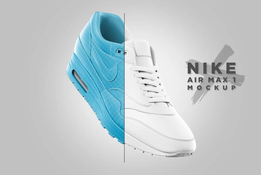 Nike Air Design Mockup