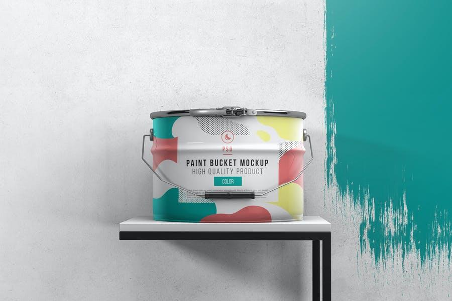 Paint Bucket Mockusp PSD