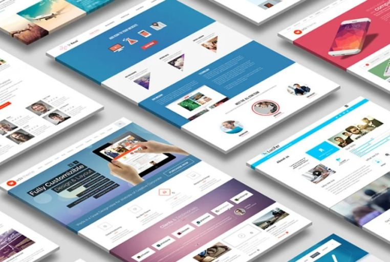 Perspectrive Website Design Mockup