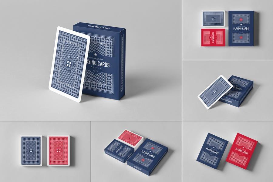 Photo Realistic Playing Card Mockups