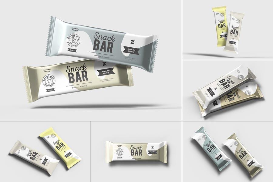 Photo Realistic Snack Bar Mockup