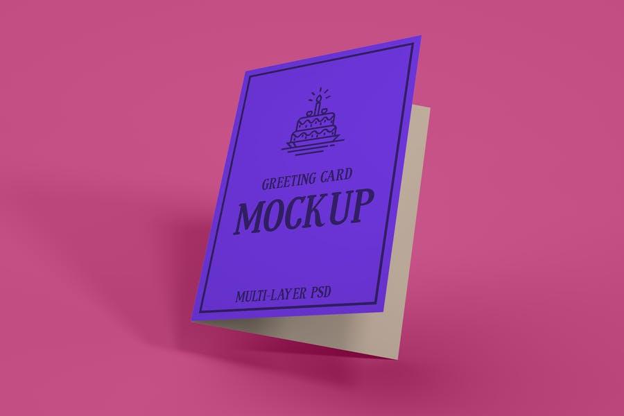 Premium Greeting Card Mockups
