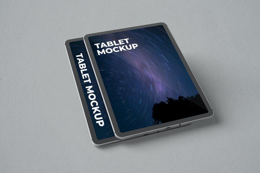 Professional Tablet Mockups PSD