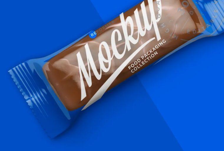 Realistic Food Packaging Mockup PSD