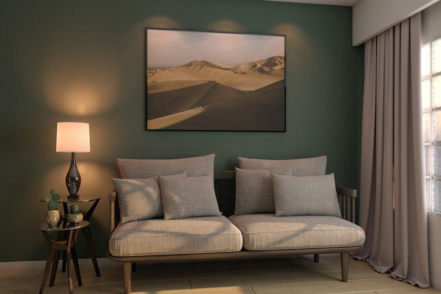 Realistic Living Room Mockups