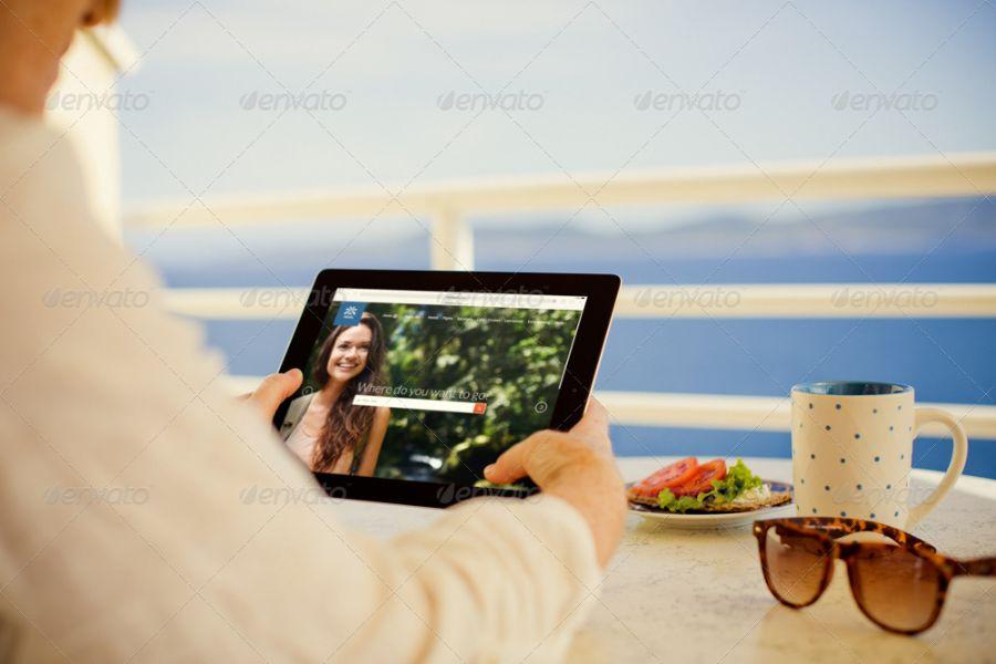 Realistic iPad Pro Mockups