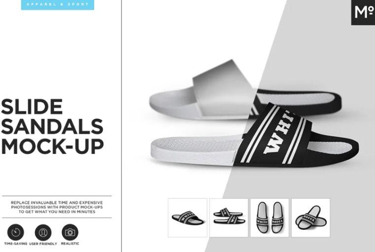 Sandal Design Mocup PSD