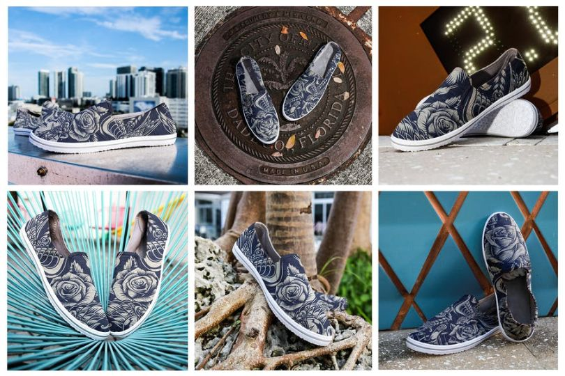 Urban Canvas Shoe Mockup