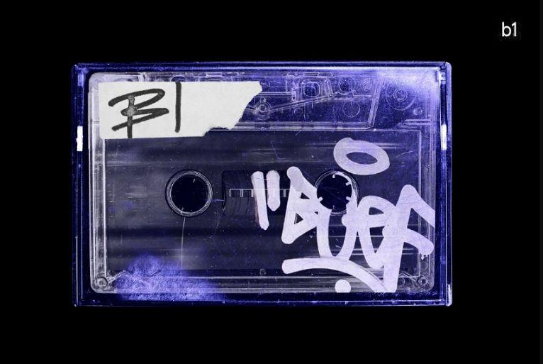 Vintage Cassette Tape Mockup PSD